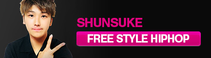 SHUNSUKE - FREE STYLE HIPHOP